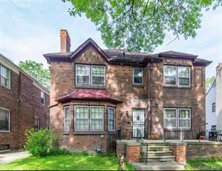 Single Family for sale in 16641 LA SALLE Avenue, Detroit, MI, 48221