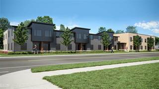 Townhouse for sale in 1201 Woodward Heights 13, Ferndale, MI, 48220