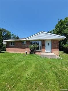 Residential Property for sale in 21 E NEWPORT Avenue, Pontiac, MI, 48340