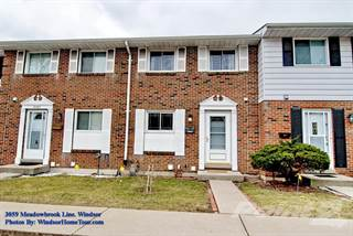 Condo for sale in 3059 Meadowbrook, Windsor, Ontario, N8T 3C5