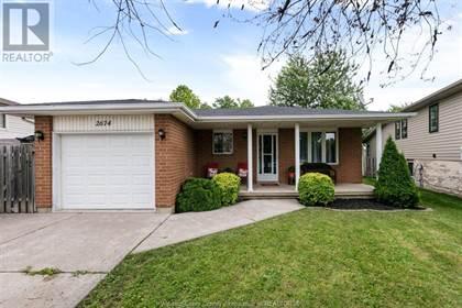 Single Family for sale in 2674 GEM, Windsor, Ontario, N8W5N8