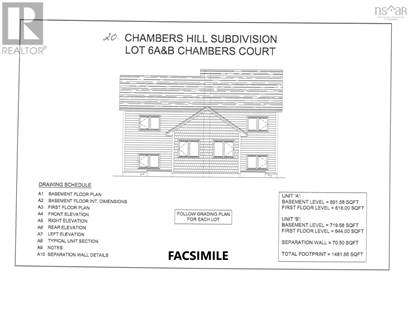 Single Family for sale in 6A 20 Chambers Court, Spryfield, Nova Scotia