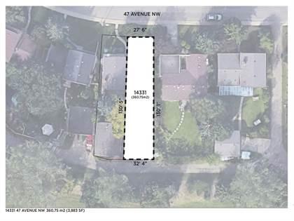 Vacant Land for sale in 14331 47 AV NW, Edmonton, Alberta, T6H0B9