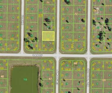 Lots And Land for sale in 3 LONGLEAF DRIVE, Placida, FL, 33946