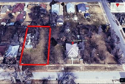 Lots And Land for sale in 1519 NW 1st Street, Oklahoma City, OK, 73106