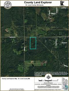 Lots And Land for sale in xxx Maple Grove Rd, Hermantown, MN, 55810
