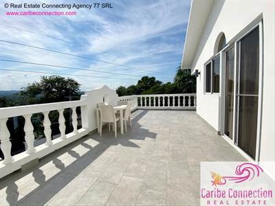 Condominium for rent in WAKE UP TO SUNSHINE EVERYDAY FROM THIS SPECTACULAR TOP FLOOR APARTMENT WITH MOUNTAIN VIEW!, Cabarete, Puerto Plata