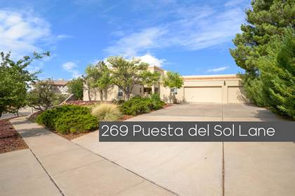 Residential Property for sale in 269 Puesta del Sol Lane, El Paso, TX, 79912