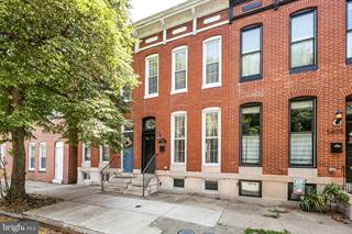 Townhouse for sale in 1603 S CHARLES STREET, Baltimore City, MD, 21230
