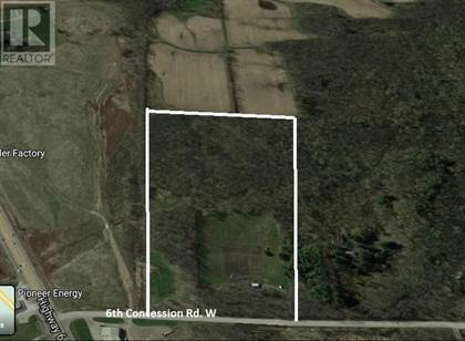 Vacant Land for sale in 460 CONCESSION 6 RD W, Hamilton, Ontario, L0R1V0