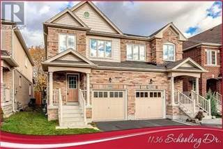 Single Family for rent in 1136 SCHOOLING DR, Oshawa, Ontario, L1K0S2
