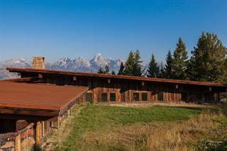 Single Family for sale in 7662 E TETON VALLEY RANCH ROAD, Kelly, WY, 83011