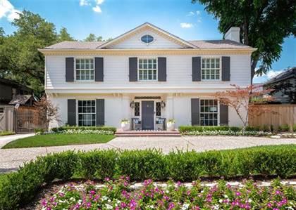 Residential Property for sale in 4308 Mcfarlin Boulevard, University Park, TX, 75205