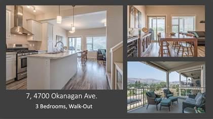 Single Family for sale in 4700 Okanagan Avenue, 7, Vernon, British Columbia, V1T9Y7