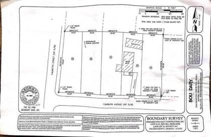 Lots And Land for sale in 4131 SW Fairburn Avenue SW, Atlanta, GA, 30331