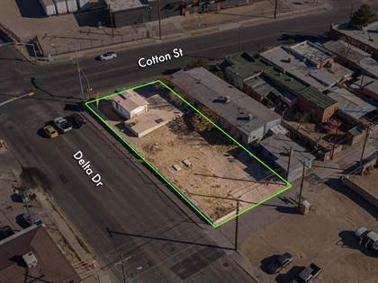 Lots And Land for sale in 1410 Delta Drive, El Paso, TX, 79901