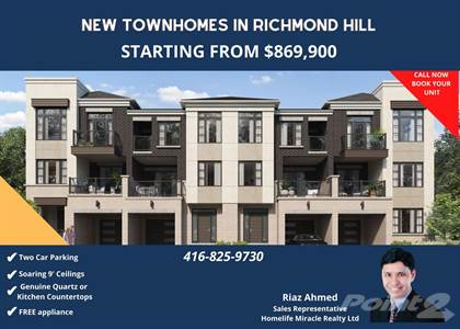 Residential Property for sale in NEW TOWNHOUES, Ottawa, Ontario