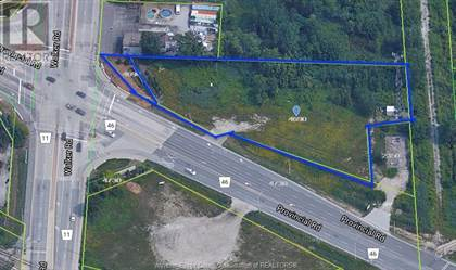 Vacant Land for sale in 4690 WALKER, Windsor, Ontario, N8W5V6