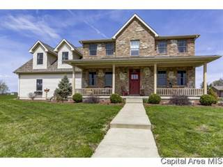 Single Family for sale in 901 Tramore PL, Pawnee, IL, 62558