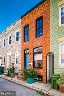 Residential Property for sale in 229 S MADEIRA STREET, Baltimore City, MD, 21231
