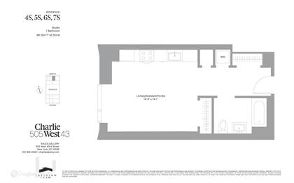 Residential Property for sale in 505 W 43rd 4S, Manhattan, NY, 10036