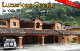 Condo for sale in Valle Escondido Streamfront Furnished Condominium, Boquete, Chiriquí