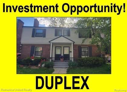 Multifamily for sale in 20413 STRATFORD Road, Detroit, MI, 48221