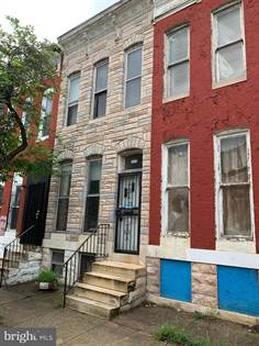 Residential for sale in 1426 AISQUITH ST, Baltimore City, MD, 21202