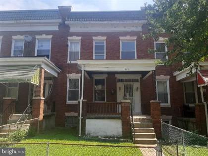 Residential for sale in 327 LYNDHURST STREET, Baltimore City, MD, 21229