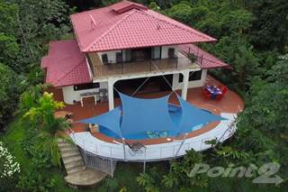 Residential Property for sale in 10+ acres, 4-bedroom, bordered by rainforest reserve, white water ocean views, private waterfall!, Dominical, Puntarenas