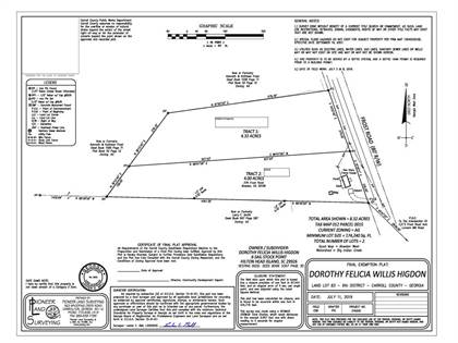 Lots And Land for sale in Frost 4.23 Acres, Bowdon, GA, 30108