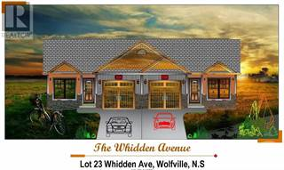 Single Family for sale in 23A Whidden Avenue, Wolfville, Nova Scotia