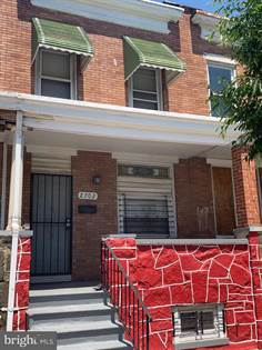 Residential Property for sale in 2702 ASHLAND AVENUE, Baltimore City, MD, 21205