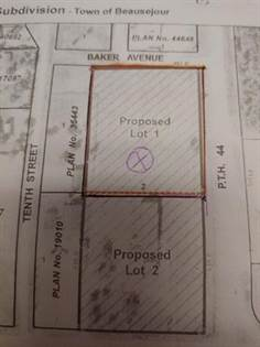 Vacant Land for sale in #lot 1Baker Avenue 1060, Beausejour, Manitoba, R0E0C0