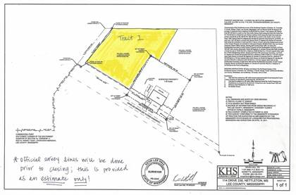 Lots And Land for sale in Drive 230, Nettleton, MS, 38858