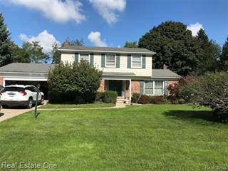 Single Family for sale in 561 FOX RIVER Drive, Bloomfield Township, MI, 48304