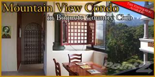 Condo for sale in Mountain view Apartment, Alto Boquete, Boquete, Panama, Boquete, Chiriquí