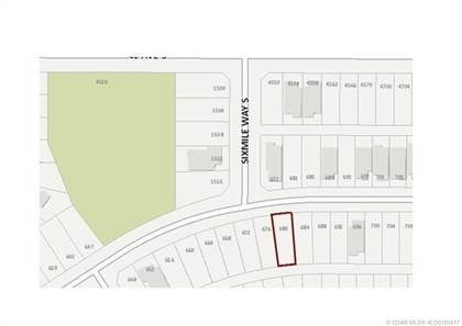 Lots And Land for sale in 680 Sixmile Crescent S, Lethbridge, Alberta, T1K 6Z9