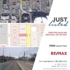 Comm/Ind for sale in 10560 105 Street, Edmonton, Alberta