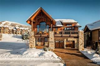Single Family for sale in 2624 Bronc Buster Loop, Steamboat Springs, CO, 80487