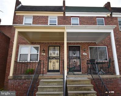 Residential Property for sale in 807 DUMBARTON AVENUE, Baltimore City, MD, 21218