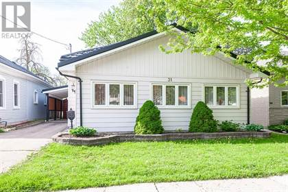 Single Family for sale in 31 RAILWAY Avenue, Stratford, Ontario, N5A2H8