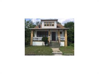 Single Family for sale in 15851 WILDEMERE Street, Detroit, MI, 48238