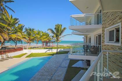 Condominium for sale in Brand new oceanfront apartment for Sale in Cabarete., Cabarete, Puerto Plata