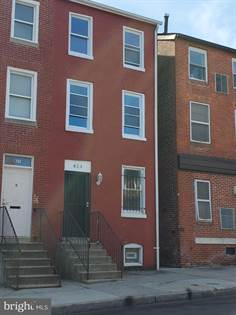 Residential Property for sale in 823 W LEXINGTON STREET, Baltimore City, MD, 21201