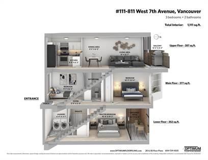 Single Family for sale in 811 W 7TH AVENUE 111, Vancouver, British Columbia, V5Z1C2