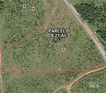 Lots And Land for sale in Parcel D Hilltop Lane (8.21 acres), Orofino, ID, 83544