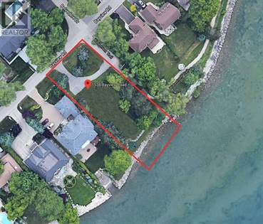 Vacant Land for sale in 1538 BAYVIEW RD, Oakville, Ontario, L6L1A1