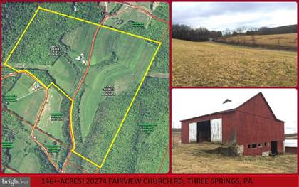 Farm And Agriculture for sale in 20274 FAIRVIEW CHURCH, Clay, PA, 17264
