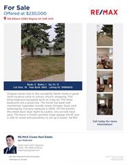 Single Family for sale in 149 Ellison Cress, Regina, Saskatchewan